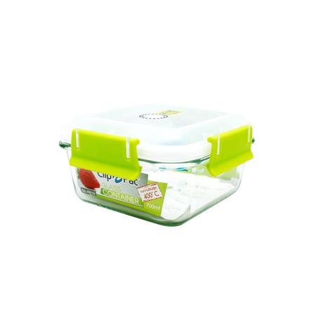 กล่องถนอมอาหาร แบบแก้ว รุ่น Clippac Glass 6617