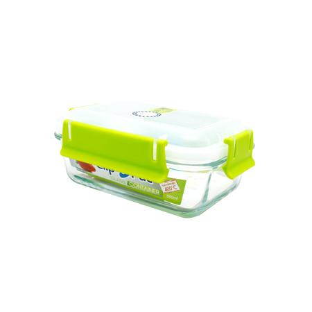 กล่องถนอมอาหาร แบบแก้ว รุ่น Clippac Glass 6620