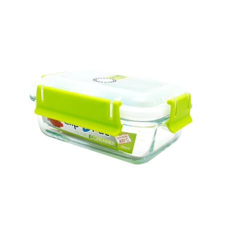 กล่องถนอมอาหาร แบบแก้ว รุ่น Clippac Glass 6621