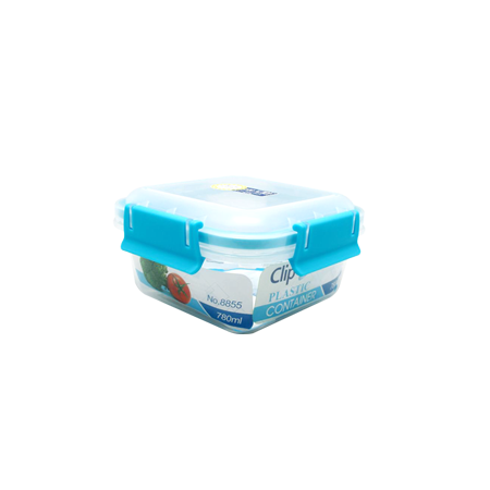กล่องถนอมอาหาร รุ่น Clippac Plastic 8853