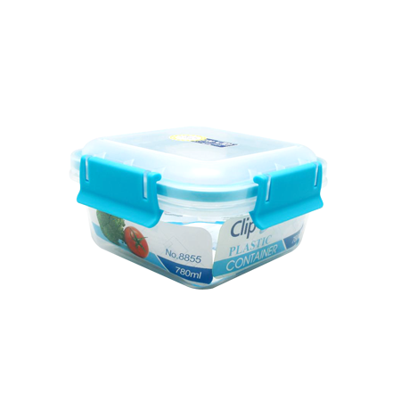กล่องถนอมอาหาร รุ่น Clippac Plastic 8855