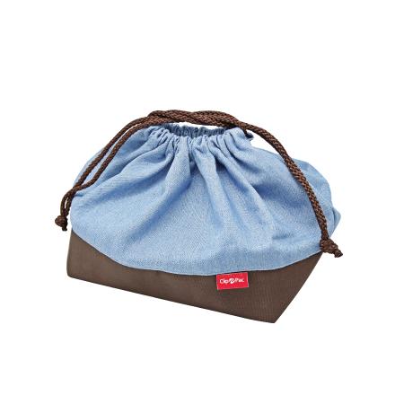 ถุงผ้าใส่กล่องอาหาร รุ่น Blue Jean 2042