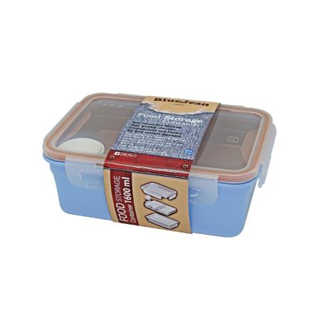 กล่องถนอมอาหาร รุ่น Blue Jean 431Q - Denim