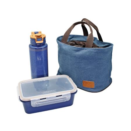 ชุดกล่องอาหาร รุ่น Blue Jean S3-177Q1/L