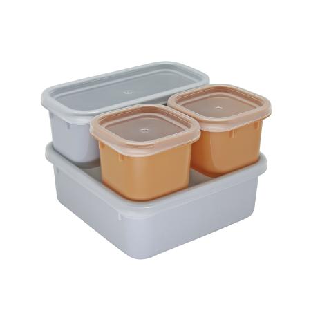 กล่องถนอมอาหาร รุ่น Blue Jean S4-443/SL - Canvas