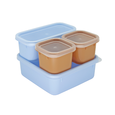 กล่องถนอมอาหาร รุ่น Blue Jean S4-443/SL - Denim