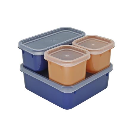 กล่องถนอมอาหาร รุ่น Blue Jean S4-443/SL - Indigo